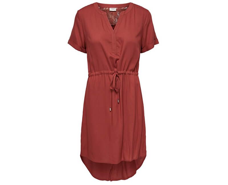 Jacqueline de Yong Imbrăcăminte pentru femei JDYMASON S/S LACE DRESS WVN Tandori Spice