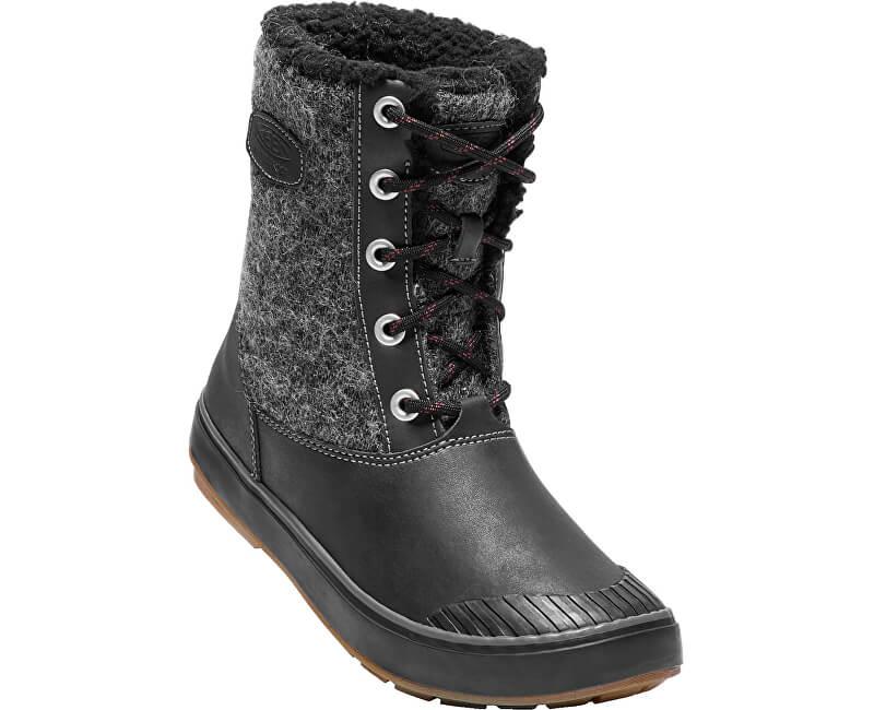 KEEN Dámské boty Elsa Boot WP Black Wool