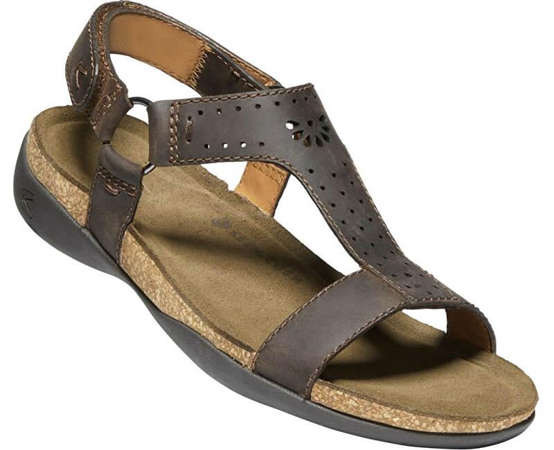 6d082ddff977 KEEN Dámské sandále Kaci Ana T-Strap Sandal W Dark Earth ...