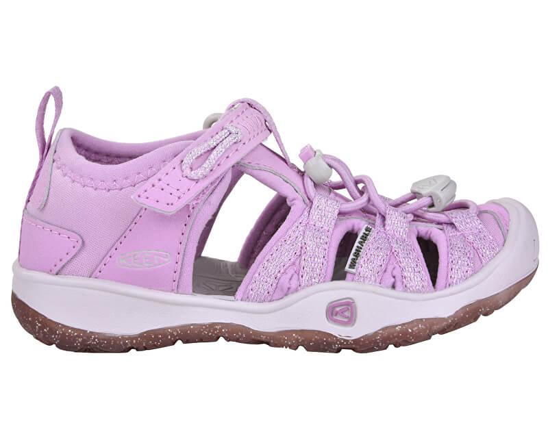 KEEN Dětské sandále Moxie Sandal Kids Lupine/Vapor