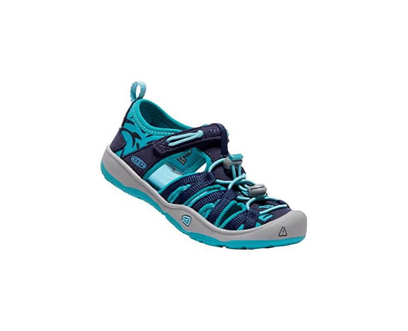 KEEN Dětské sandále Moxie Sandal Dress Blues/Viridian
