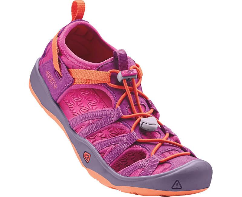 KEEN Dětské sandále Moxie Sandal Purple Wine/Nasturtium JUNIOR