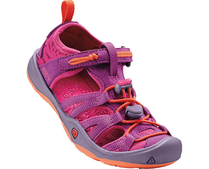 KEEN Dětské sandály Moxie Sandal Purple Wine/Nasturtium KIDS