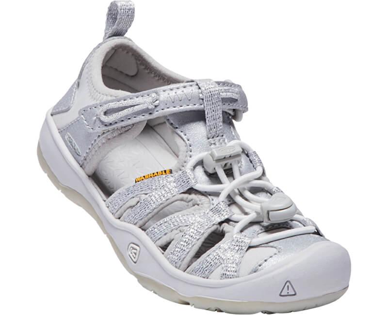 KEEN Dětské sandále Moxie Sandal Silver KIDS
