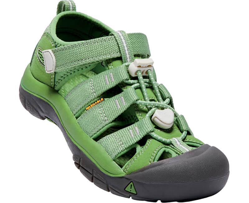 KEEN Detské sandále Newport H2 Rainbow Pack Fluorite Green JUNIOR