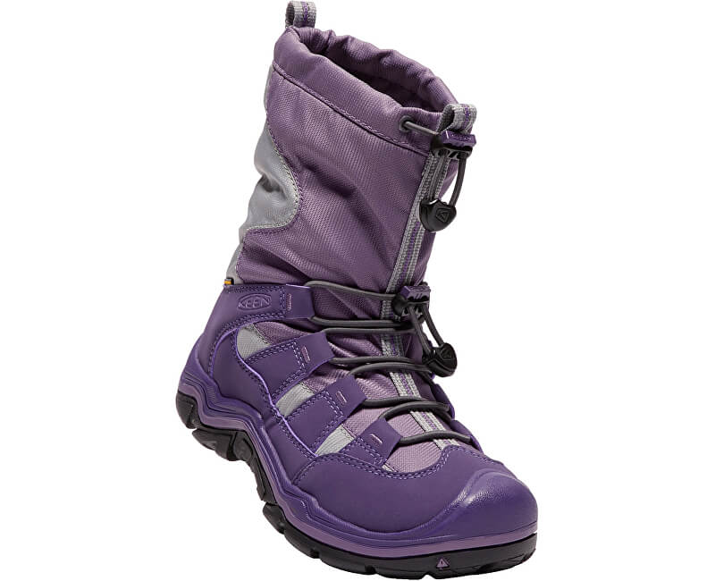 KEEN Junior topánky Winter port II Wp purple plumeria / alloy