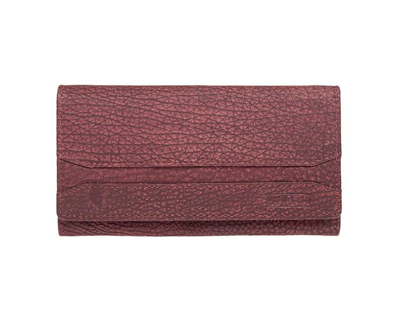 117d58a066 Lagen Dámska červená kožená peňaženka Red W-2025 W-3