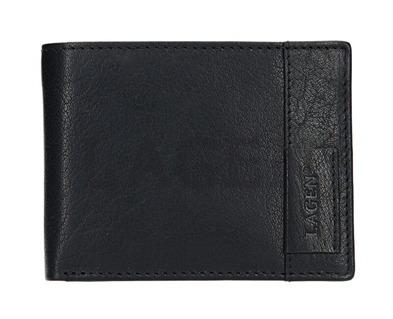 Lagen Piele bărbați portofel 9113 Black