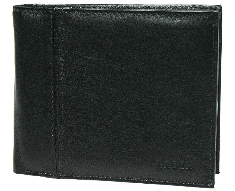 6e0b315d1 Lagen Pánska černá kožená peňaženka Black PW-521 -1 | Vivantis.sk ...