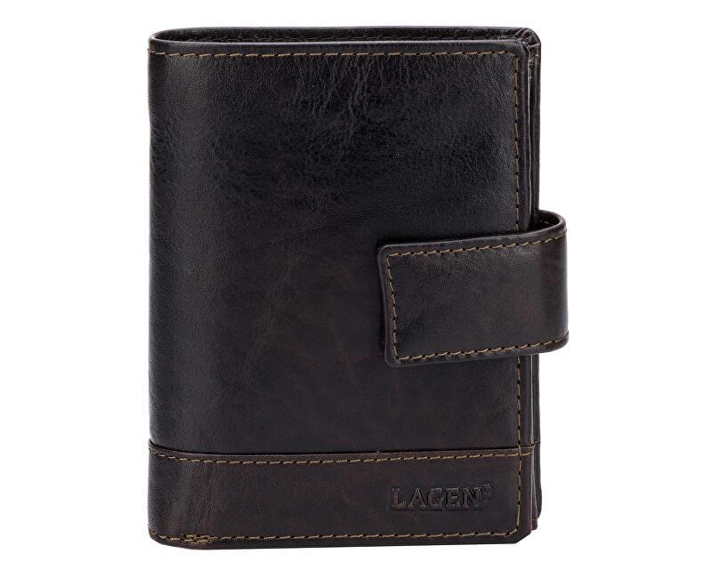8de998e86a Lagen Pánska kožená peňaženka Dark Brown V-27 T