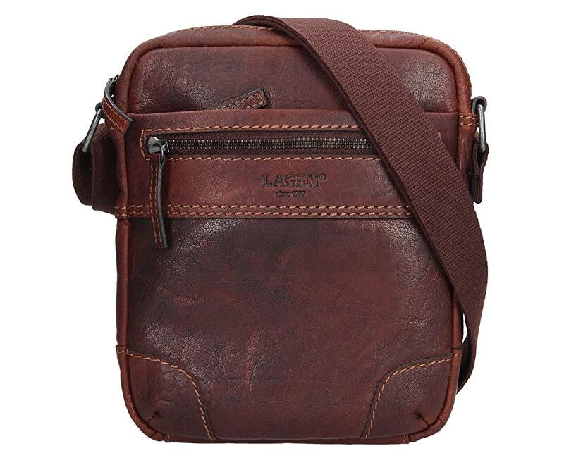Lagen Pánska taška cez rameno 22403 TAN Doprava ZDARMA  4887876667