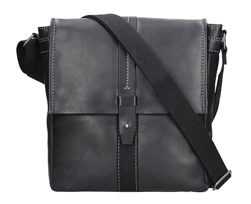 Lagen Pánska taška cez rameno 22420 BLACK Doprava ZDARMA  18d0f386ed6
