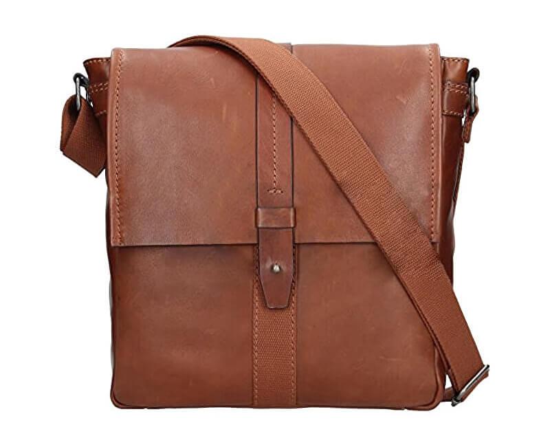 Lagen Pánska taška cez rameno 22420 BROWN Doprava ZDARMA  5768f3bf0d