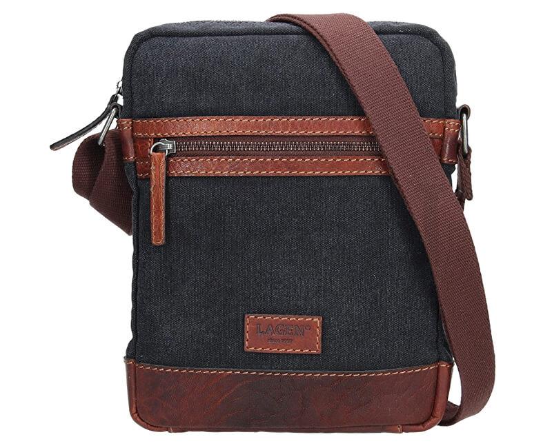 d7b1a45b4d Lagen Pánska taška cez rameno 23306 TAN Doprava ZDARMA