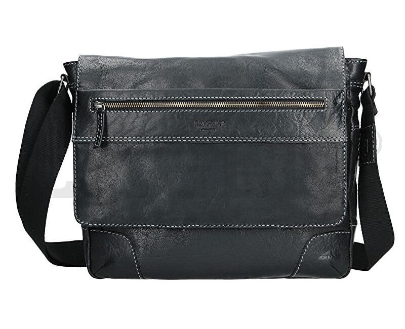 Lagen Pánská taška přes rameno 23307 BLACK Doprava ZDARMA  93a33987ad0