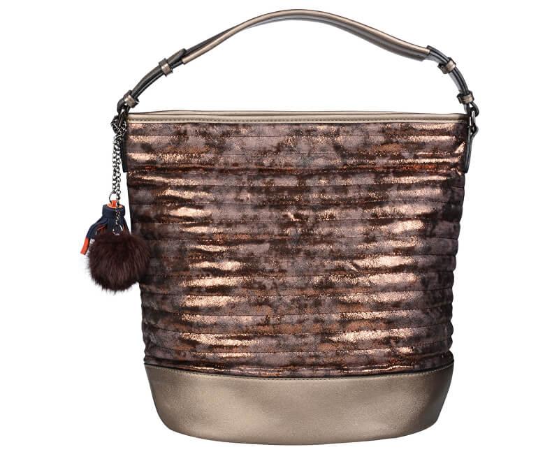 Lecharme Elegantní kabelka 10008400 Bronz