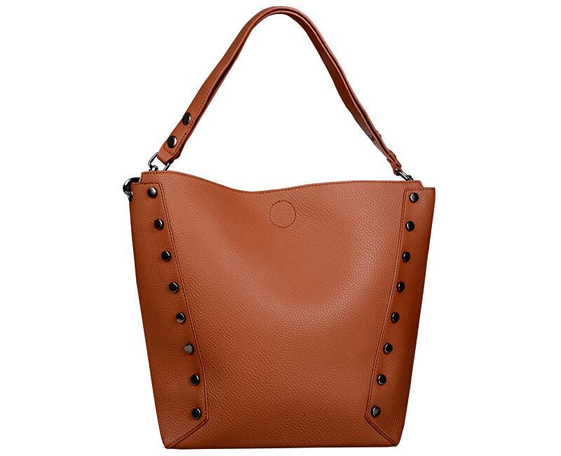 Lecharme Elegantní kabelka 1644 Brown
