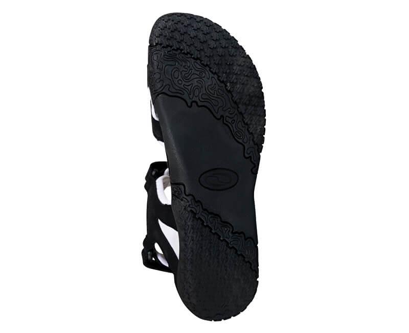 LOAP Dámske sandále Caffa Black Bl de Blanc čierno-biele SSL1758 ... 270b2468029