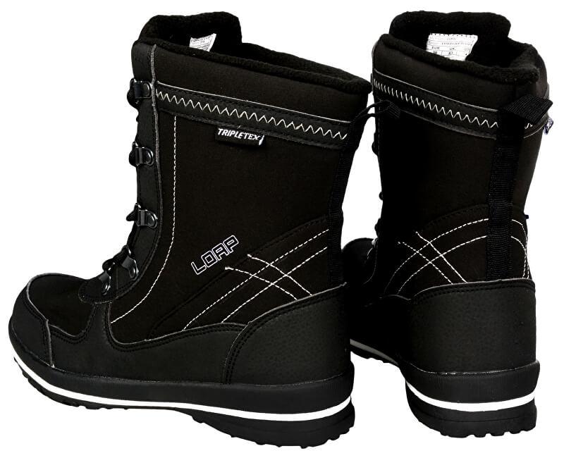 36cd60d7eb7 LOAP Dámské zimní boty Denia Black Bl De Blanc SBL1749-V11A - SLEVA ...