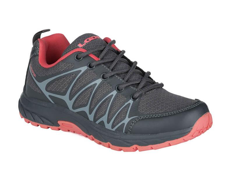LOAP Dámské outdoorové boty Birken W Asphalt/Pink HSL19176-T73J