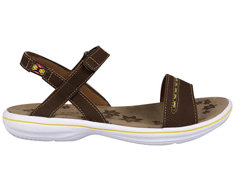 931d0aab6795 LOAP Dámske sandále Anexia Beige White SSL18132-R06A Výpredaj