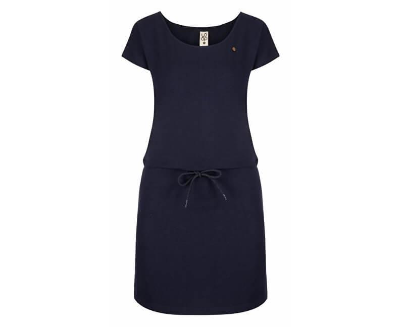 LOAP Dámské šaty Ninie Night Sky Blue CLW1992-M94M