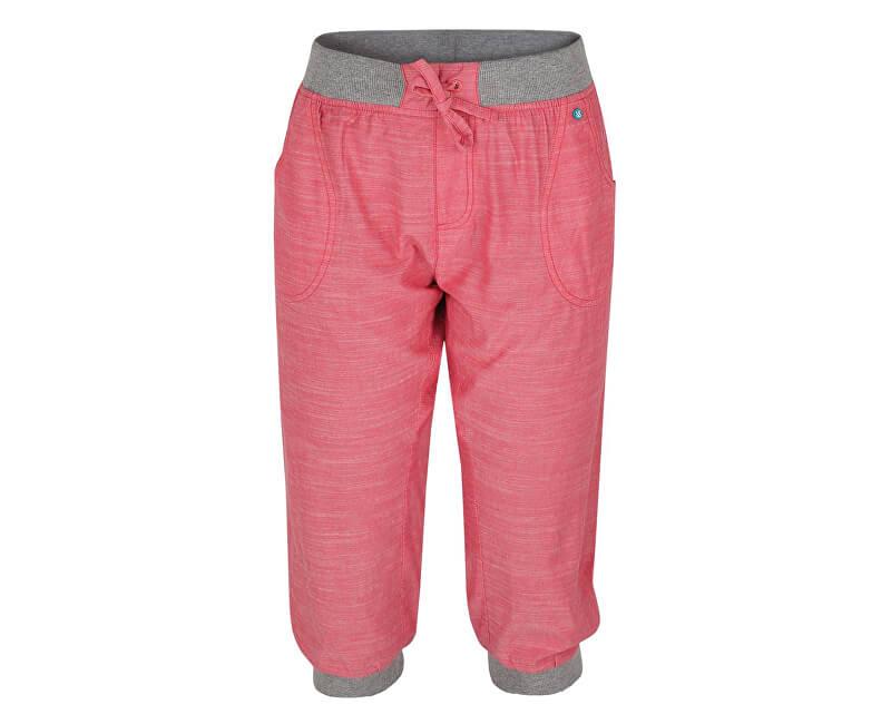 071090ba9ef5 LOAP Dámske trojštvrťové nohavice Nesfera Geranium ružové CLW1762-J27J  Výpredaj
