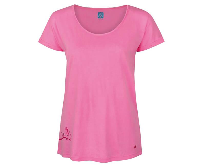 ed75720f3e7c LOAP Dámske tričko Ameri Cot Candy ružové CLW1746-J85J ...