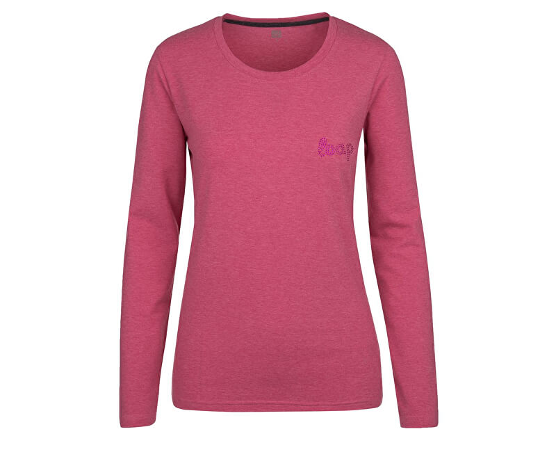 LOAP Dámské triko Beka Cab Melange růžová CLW17114-J94X