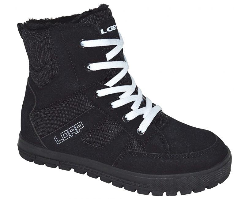 LOAP Dámské zimní boty Veona Black/Bl De Blanc SBL1630-V11A