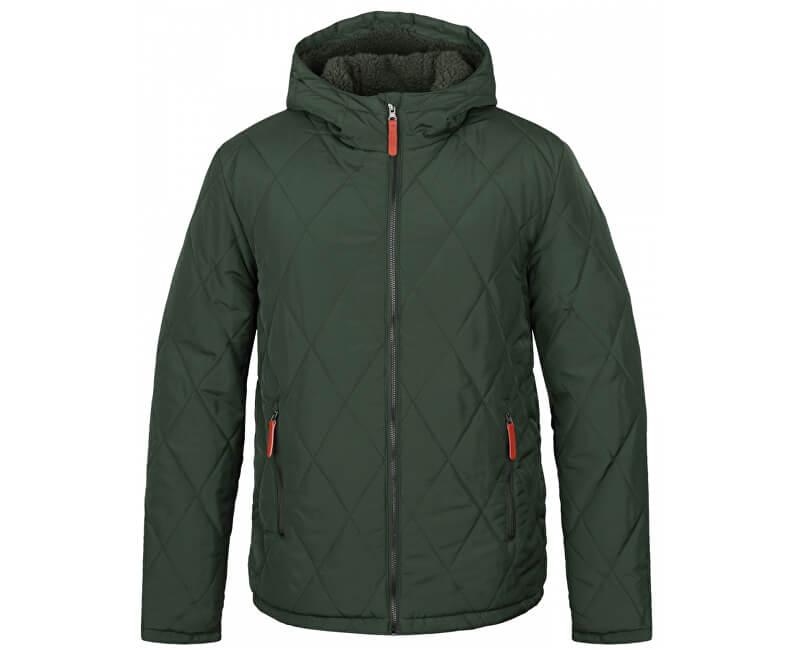 LOAP Pánská zimní bunda do města Totem Kom Green zelená CLM1741-P18P