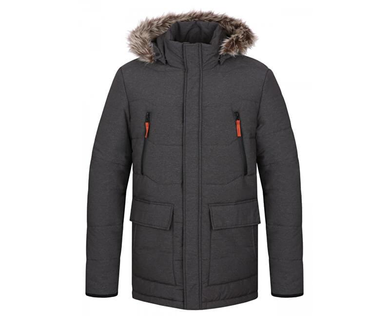 cf11c3cde LOAP Pánska zimná bunda do mesta Tron Dk Melange šedá CLM1738-T49X ...