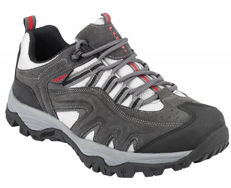 LOAP Pánské outdoorové boty Ross Dk Shadow/Black HSU14172-T15V