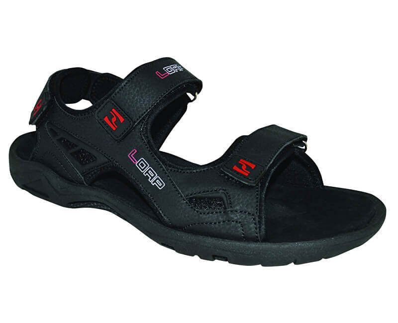 2750632f9682 LOAP Pánske sandále Reul Black Chili Pepper SSM1845-V11G