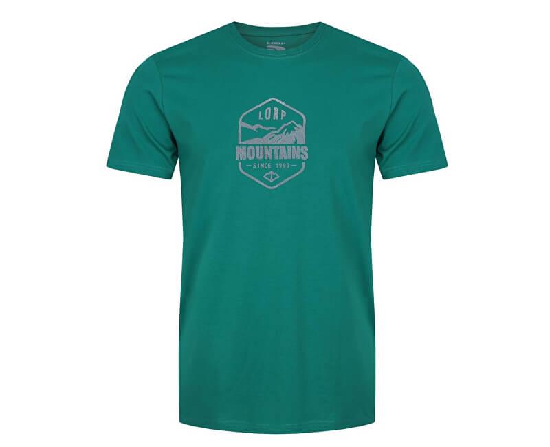 b8a455176 LOAP Pánske tričko s krátkym rukávom Amor Lu Meadow zelená CLM1773-P21P -  ZĽAVA 4,74 Euro | Vivantis.sk