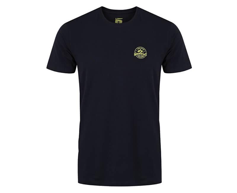 LOAP Pánské triko s krátkým rukávem Apok Bl Graphite modrá CLM1775-I06I