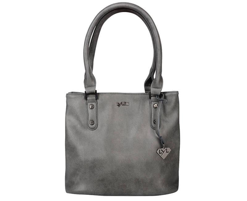 LYLEE Elegantná kabelka Emily Dark Grey - ZĽAVA 25 244e38bad20