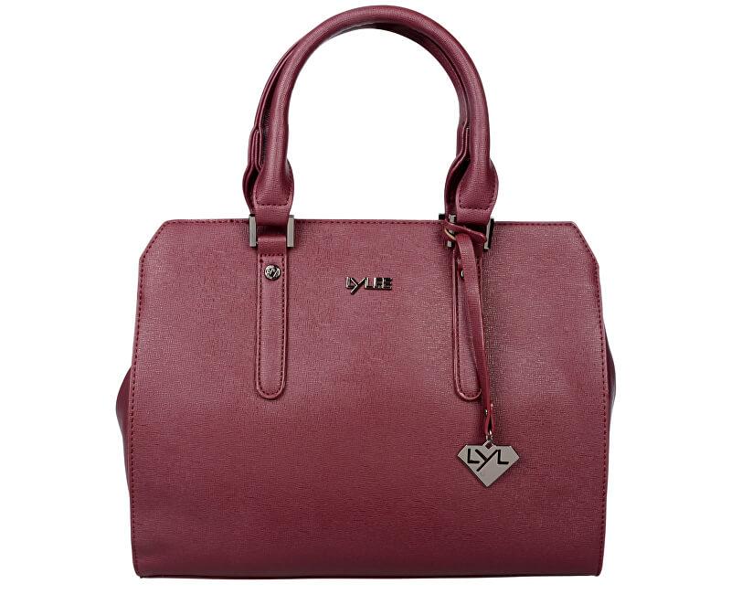 LYLEE Elegantní kabelka Emmy Bordeaux