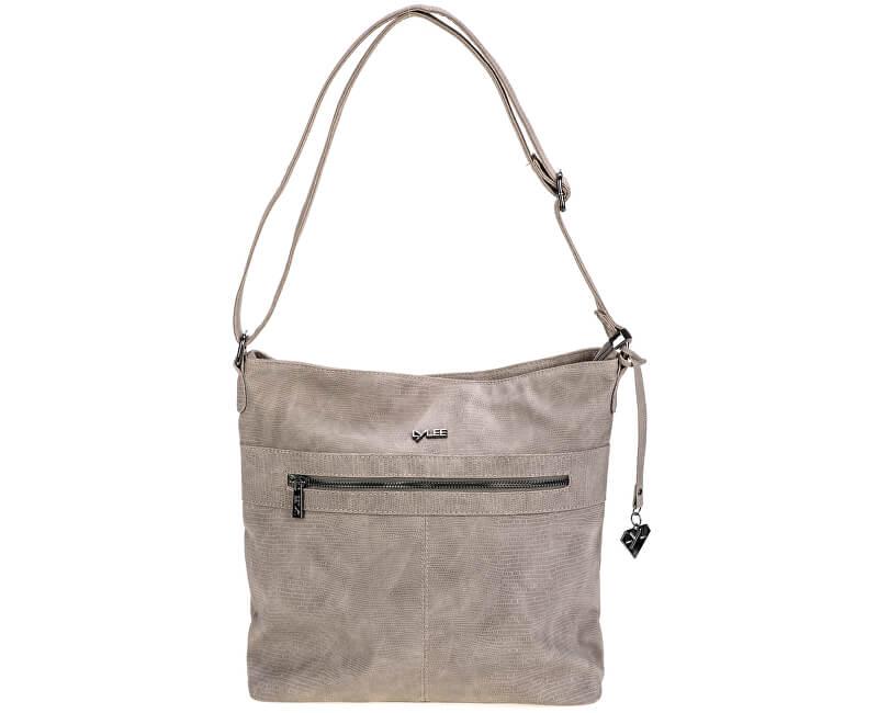 LYLEE Elegantní kabelka Fannie Crossover Bag Taupe