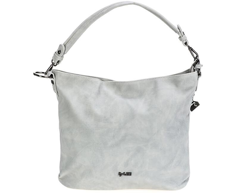 LYLEE Elegantní kabelka Filipa Hobo Bag Light Grey