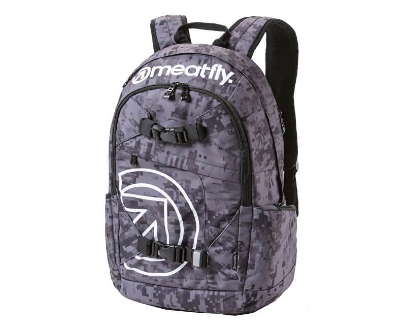 Meatfly Batoh Basejumper 3 Backpack A - Binary Camo Print