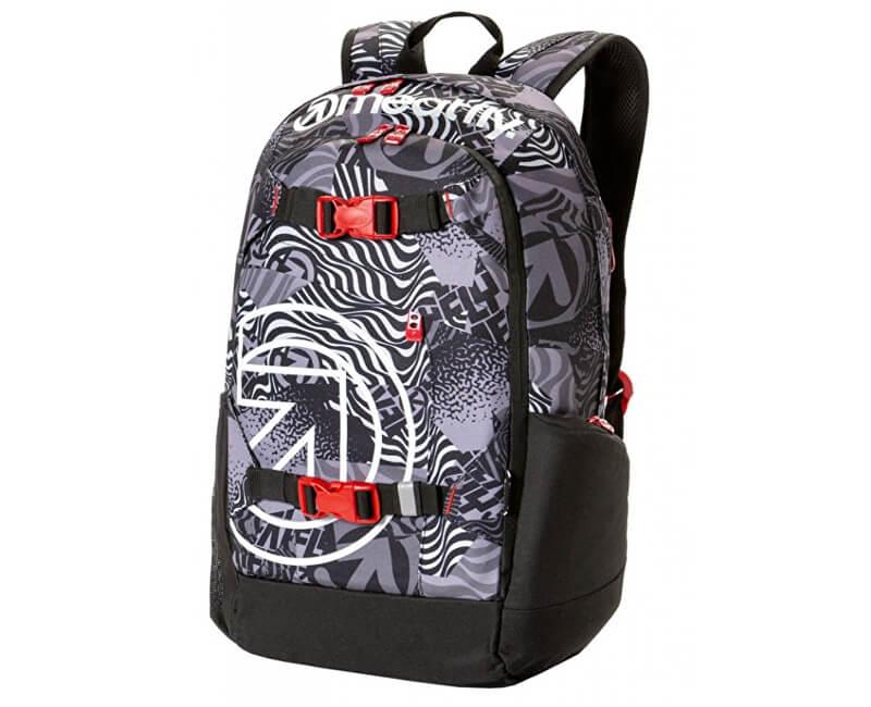 Meatfly Batoh Base jumper 4 Backpack H- Numb Black