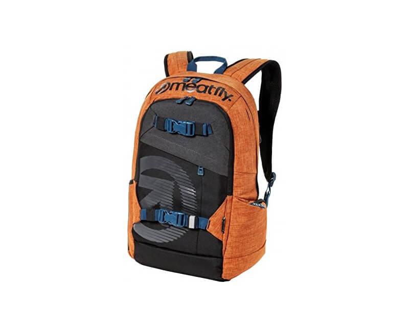 Meatfly Batoh Base jumper 4 Backpack N- Ht. Petrol, Ht. Brown Oak