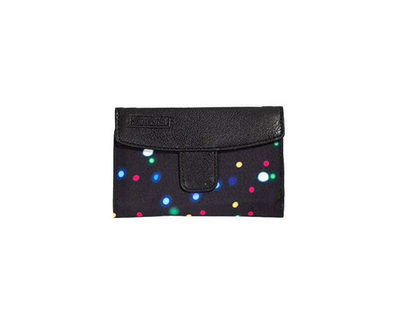 Meatfly Dámska peňaženka Needle Lights Neon, Black