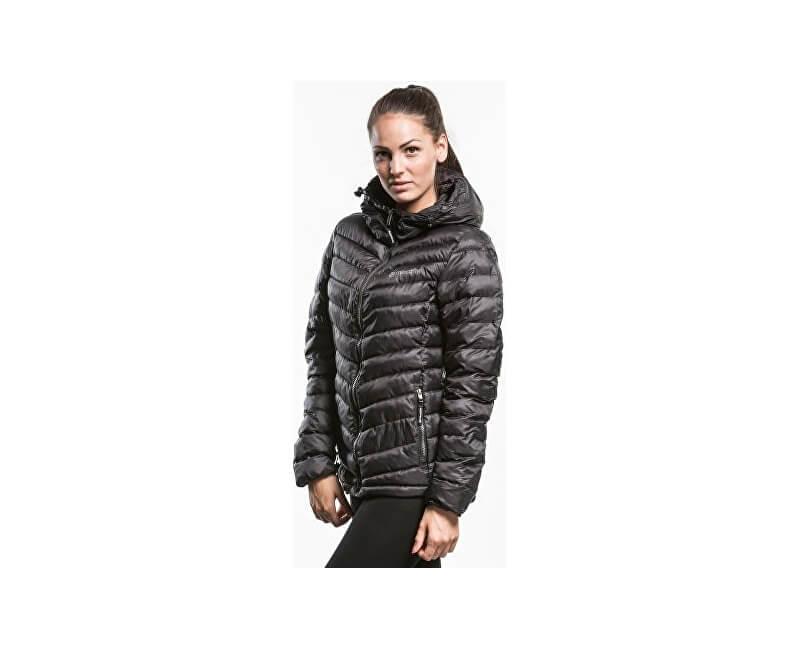 Meatfly Dámska zimná bunda Bell a 2 Jacket A - Black
