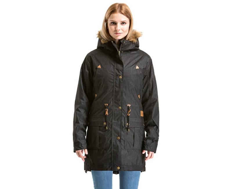 Meatfly Dámská zimní bunda Rainy 2 Jacket C - Black Heather