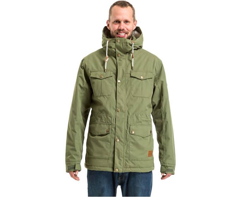 Meatfly Pánská bunda Rodney 2 Mns Jacket D - Olive