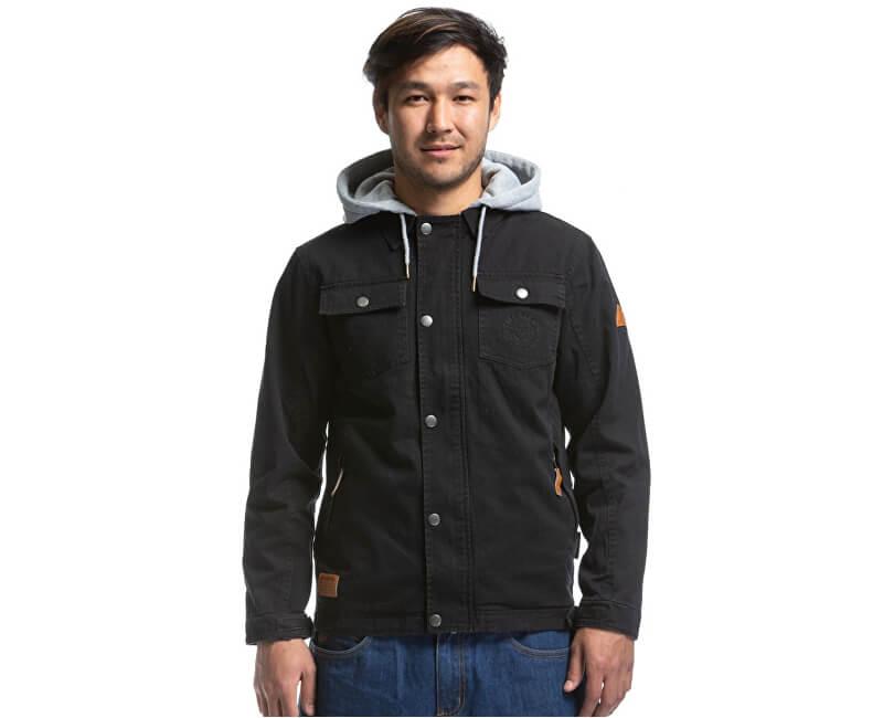 Meatfly Pánska bunda Taras Cotton Jacket A-Black