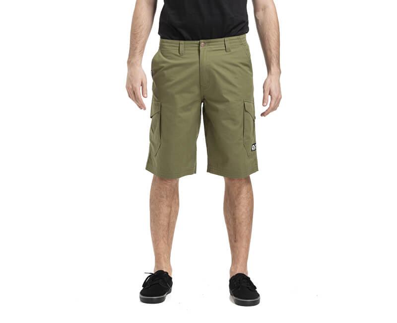 Meatfly Pánske kraťasy Icon 19 Shorts G-Olive