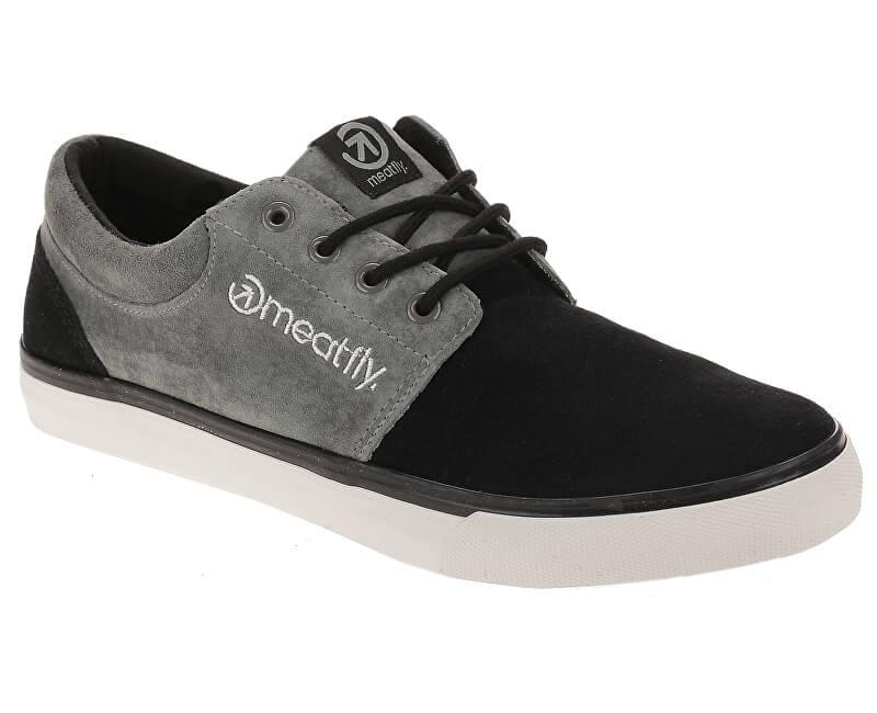 Meatfly Pánské tenisky Marvin Sneakers A-Gray, Black